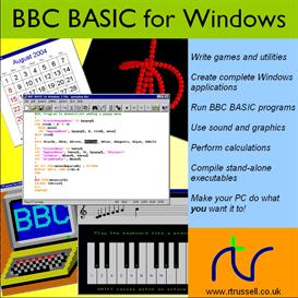 BBC BASIC for Windows | Software | Developer