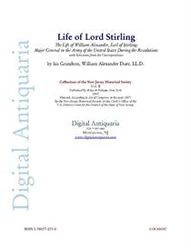 Life of Lord Stirling (1847) | eBooks | History