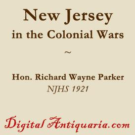 new jersey in the colonial wars