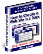 create a website in 5 days