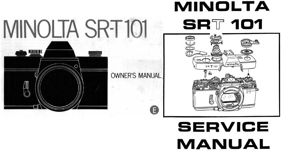minolta sr t101 service manual instruction manual other files rh store payloadz com minolta srt 202 service manual minolta srt 201 service manual