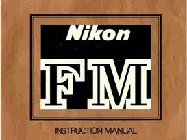 nikon fm instruction manual