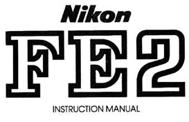 nikon fe2 instruction manual