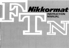 nikon nikkormat ftn repair manual & instruction manuals