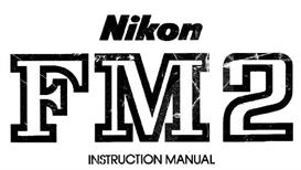 nikon fm2 instruction manual