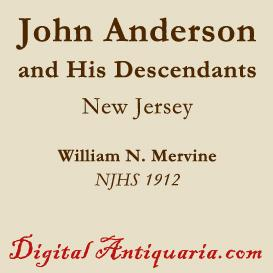 John Anderson and His Descendants | eBooks | History