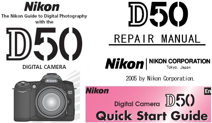 nikon d50 repair manual instruction manual quick start guide rh store payloadz com Nikon D50 Firmware Update nikon d50 instruction manual