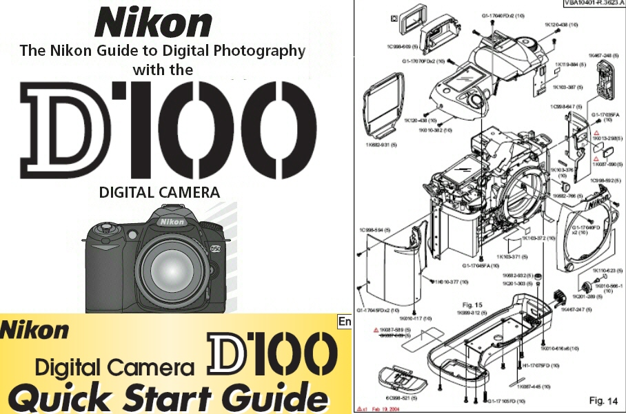 nikon d100 instruction manual quick start guide parts diagrams rh store payloadz com nikon d100 manual nikon d100 manual