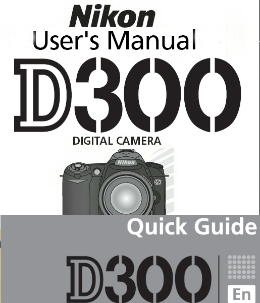 nikon d300 instruction manual quick start guide other files rh store payloadz com nikon d300s instruction manual nikon d300s instruction manual