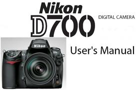 nikon d700 instruction manual