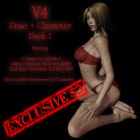 v4 pose and character pack 1