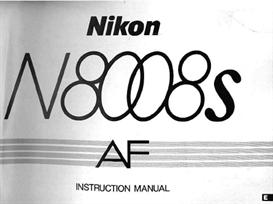 nikon n8008s f801s instruction manual