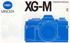 minolta xg-m xgm 35mm camera instruction manual