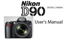 nikon d90 digital slr instruction manual