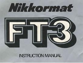nikon nikkormat ft3 instruction manual