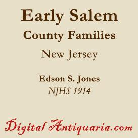 early salem county families