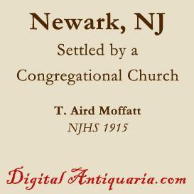 Newark Settled by a Congregational Church   eBooks   History