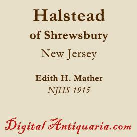 Halstead of Shrewsbury | eBooks | History