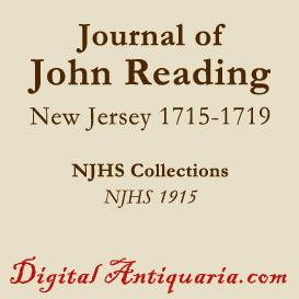 journal of john reading