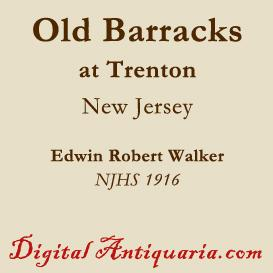 The Old Barracks at Trenton (New Jersey) | eBooks | History
