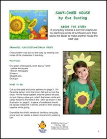 sunflower house thematic unit