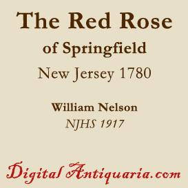 The Red Rose of Springfield 1780 | eBooks | History