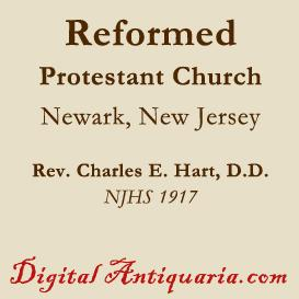 Reformed Protestant Church at Newark | eBooks | History