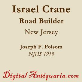 israel crane, road builder