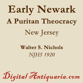 Early Newark - A Puritan Theocracy | eBooks | History
