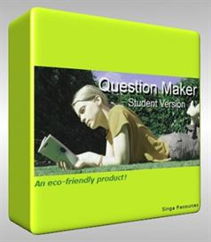 Question Maker Student Version 1.00 | Software | Training
