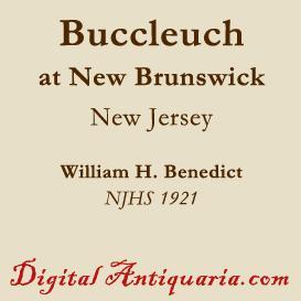 Buccleuch (New Brunswick, New Jersey) | eBooks | History