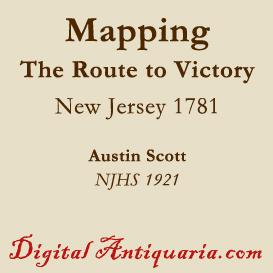 mapping the route to victory 1781
