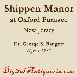 Old Shippen Manor at Oxford Furnace | eBooks | History