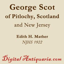 George Scot, of Pitlochy | eBooks | History
