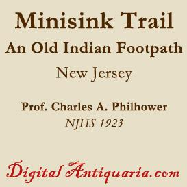 the minisink indian trail