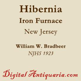 Hibernia Iron Furnace | eBooks | History