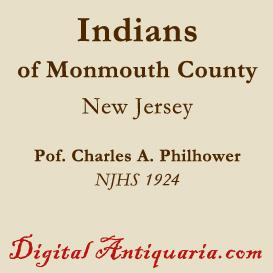 indians of monmouth county (new jersey)