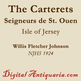 The Carterets (of New Jersey) | eBooks | History
