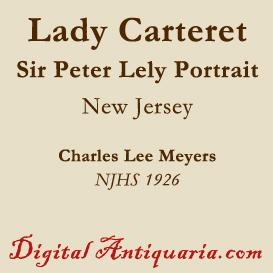 portrait of lady elizabeth carteret