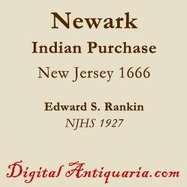 Purchase of Newark from the Indians (New Jersey) | eBooks | History