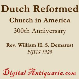 Reformed Church in America | eBooks | History