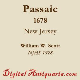 The Founding of Passaic (New Jersey) | eBooks | History