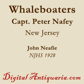 capt. peter nafey's whaleboaters