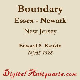 The Essex-Newark Boundary (New Jersey) | eBooks | History