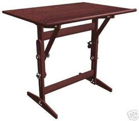 plan to build a adjustable drafting table easy to read