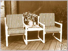 Plans to build a PVC two seater chair and table | Other Files | Patterns and Templates