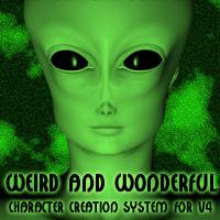 weird and wonderful character creation system for v4