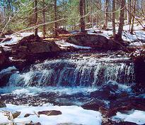 brook waterfalls