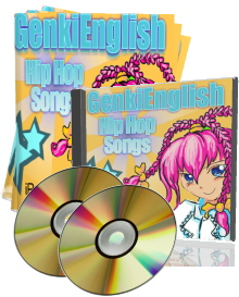 Advanced Grammar Genki English Hip Hop Songs mp3s + pdf books + PC/Mac  Software