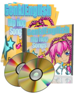 Advanced Grammar Genki English Hip Hop Songs  mp3s + pdf books + PC/Mac Software | Music | Alternative